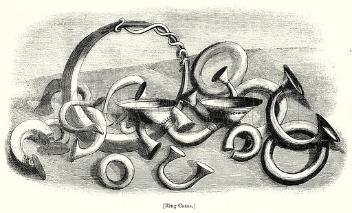 Ring Coins. London edited by Charles Knight (Virtue, c 1880).