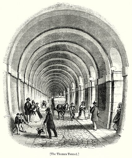 The Thames Tunnel. London edited by Charles Knight (Virtue, c 1880).