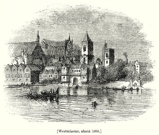 Westminster, about 1660. London edited by Charles Knight (Virtue, c 1880).