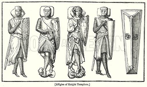 Effigies of Knight Templars. London edited by Charles Knight (Virtue, c 1880).