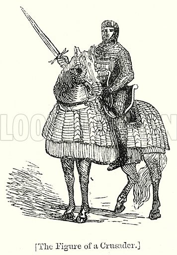The Figure of a Crusader. London edited by Charles Knight (Virtue, c 1880).