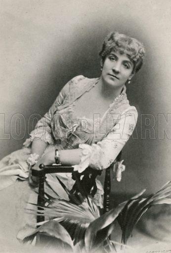 Miss Ada Rehan Illustration for The Windsor Shakespeare edited by Henry Hudson (Caxton, c 1925).