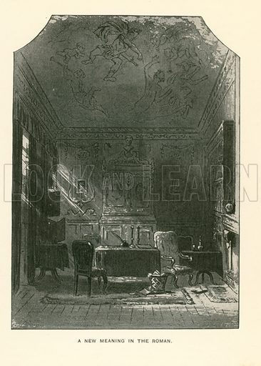 Illustration for Bleak House by Charles Dickens (Caxton Publishing, c 1900).