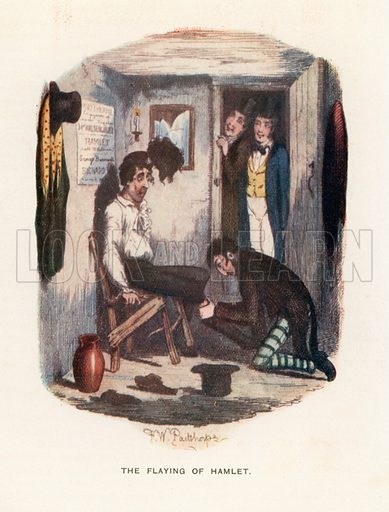 Illustration for Great Expectations by Charles Dickens (Caxton Publishing, c 1900).