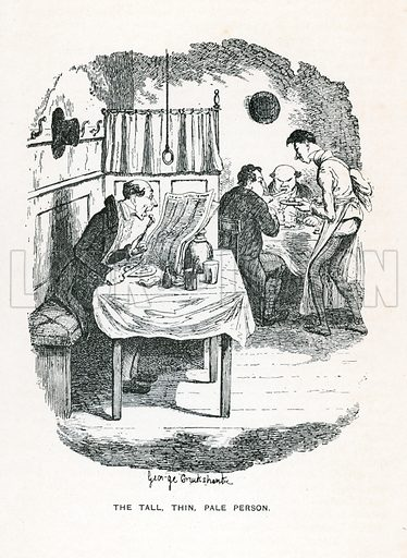 Illustration for Hard Times by Charles Dickens (Caxton Publishing, c 1900).