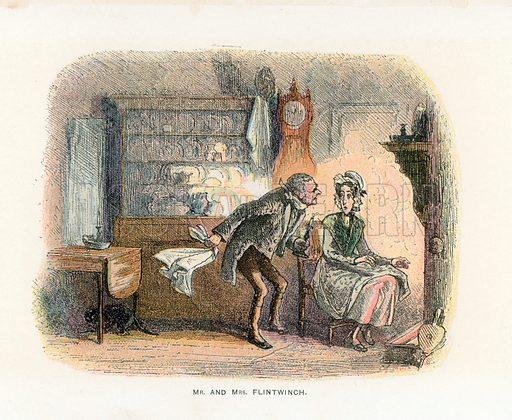 Illustration for Little Dorrit by Charles Dickens (Caxton Publishing, c 1900).