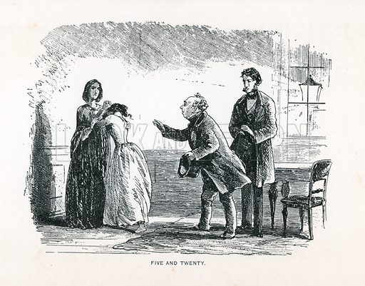 Illustration for Little Dorrit by Charles Dickens (Caxton Publishing, c 1900).