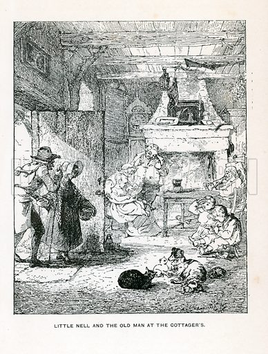 Illustration for The Old Curiosity Shop by Charles Dickens (Caxton Publishing, c 1900).