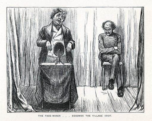 Illustration for The Uncommercial Traveller by Charles Dickens (Caxton Publishing, c 1900).