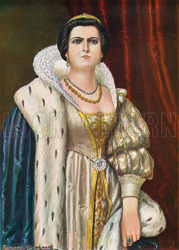 Lucrezia Borgia, picture, image, illustration