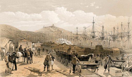 Balaclava railway, picture, image, illustration