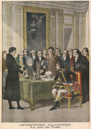 Alessandro Volta, picture, image, illustration