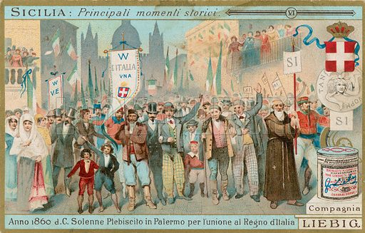 Sicilian Plebiscite, picture, image, illustration