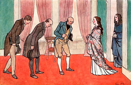 The Young Queen Victoria. Illustration for A nursery History of England by Elizabeth o' Neill (Jack, c 1920).