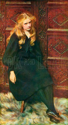 Ethel. Included in Modern Masterpieces of British Art (Amalgamated Press, c 1910).