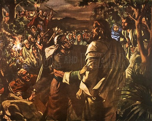 The garden of Gethsemane. Macmillan poster. Original poster for sale for £50 including VAT and postage within the UK.