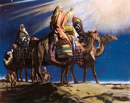 The three wise men. Macmillan poster. Original poster for sale for £50 including VAT and postage within the UK.