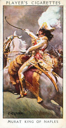 Murat King of Naples. Illustration for John Player Dandies cigarette card series, early 20th century.