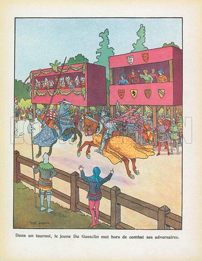 Illustration for Les Beaux Episodes de l'Histoire de France (Hachette, 1929).
