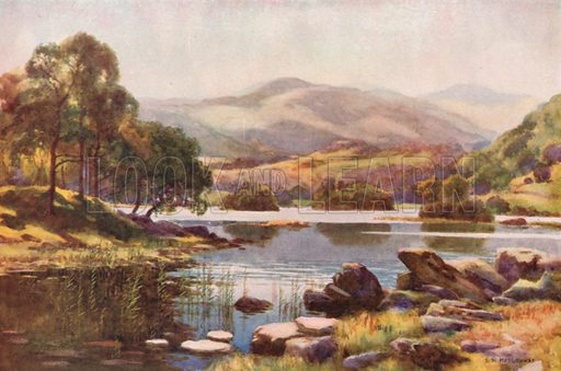 Rydalmere. Illustration for Our Beautiful Homeland series (various, early 20th cent).