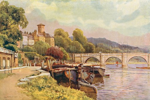 Richmond. Illustration for Our Beautiful Homeland series (various, early 20th cent).