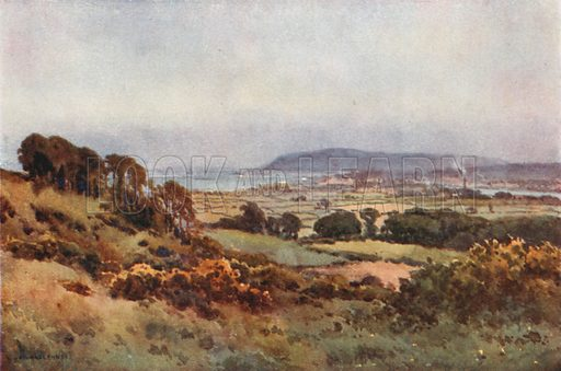 Weymouth and Portland. Illustration for Our Beautiful Homeland series (various, early 20th cent).