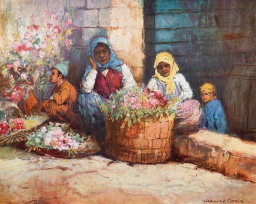 Flower-Sellers