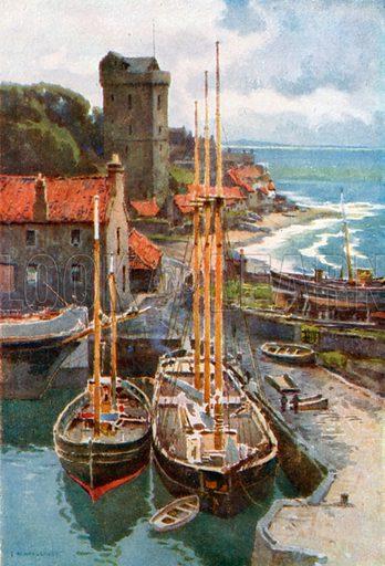 Dysart. Illustration for Beautiful Scotland (Blackie, c 1910).