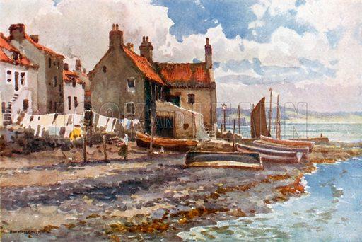 Buckhaven. Illustration for Beautiful Scotland (Blackie, c 1910).