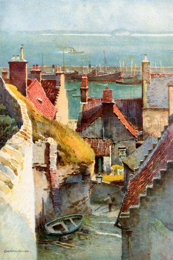 Pittenweem. Illustration for Beautiful Scotland (Blackie, c 1910).