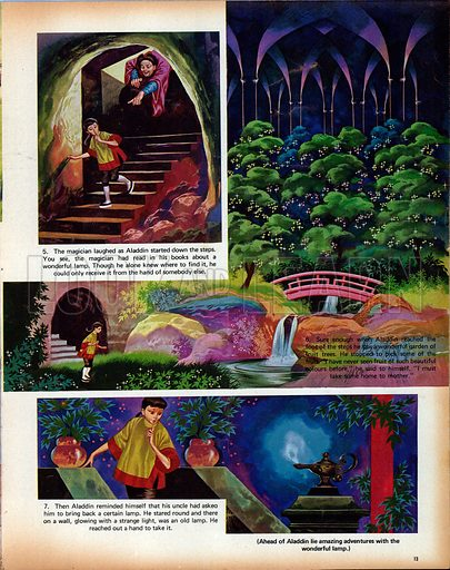 Aladdin and his Wonderful Lamp.