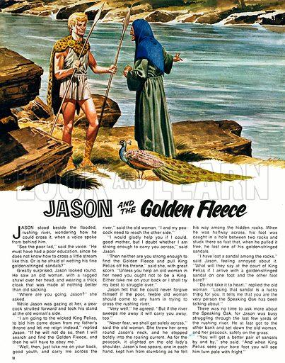 Jason and the Golden Fleece.