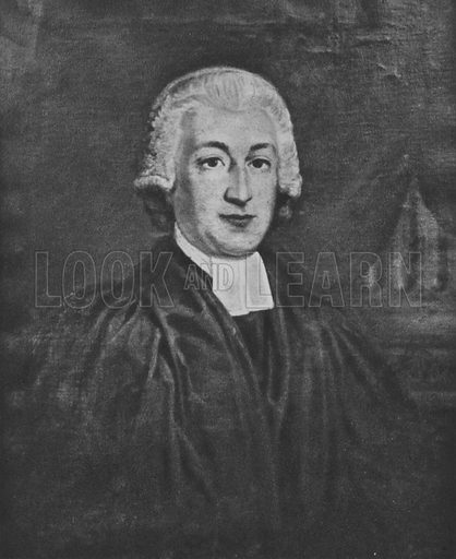 The Reverend James Woodforde (1740-1803).  Illustration for English Diaries and Journals by Kate O'Brien (Collins, 1943).  Only suitable for repro at small size.