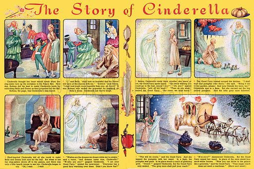 The Story of Cinderella. From Playhour, 7 July 1956.