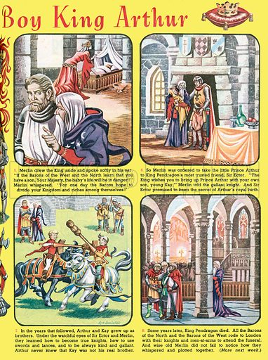 The Story of the Boy King Arthur. From Playhour, 4 August 1956.