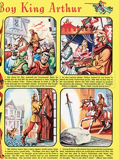The Story of the Boy King Arthur. From Playhour, 11 August 1956.