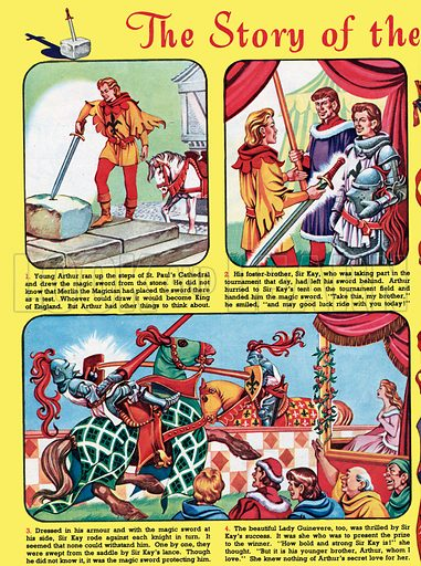 The Story of the Boy King Arthur. From Playhour, 18 August 1956.