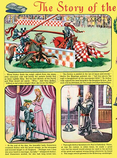 The Story of the Boy King Arthur. From Playhour, 25 August 1956.