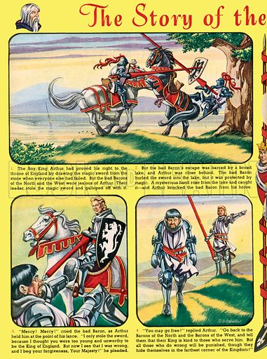 The Story of the Boy King Arthur. From Playhour, 1 September 1956.