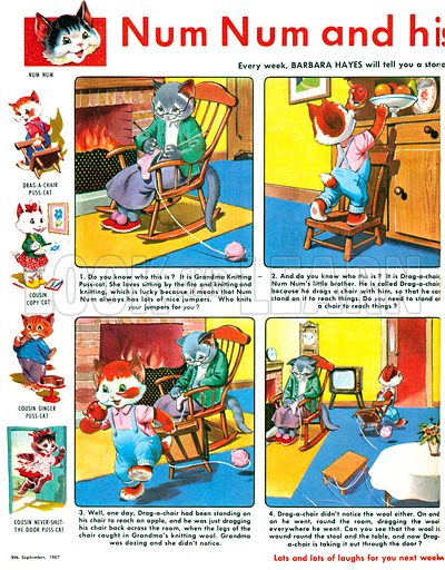 Num Num and his Funny Family. From Playhour (9 September 1967).