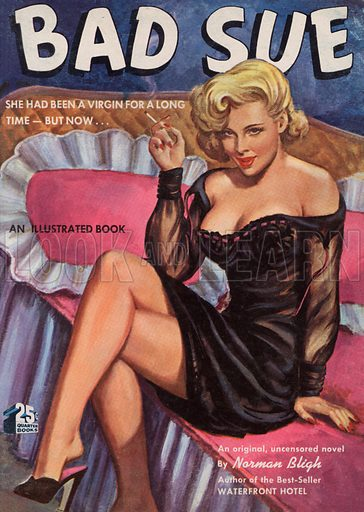 Bad Sue. Pulp fiction cover.