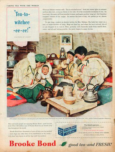 Brooke Bond Advertisement, 1958.