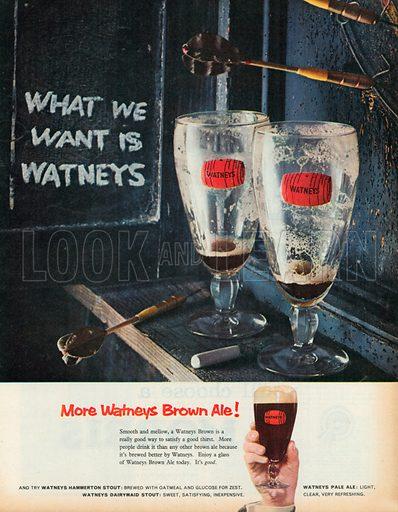 Watneys Advertisement, 1958.