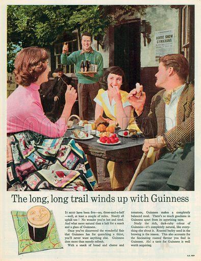 Guinness Advertisement, 1958.