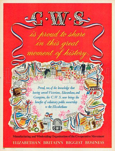C. W. S. Advertisement, 1953.