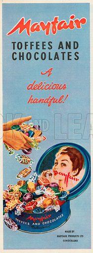 Mayfair Advertisement, 1954.