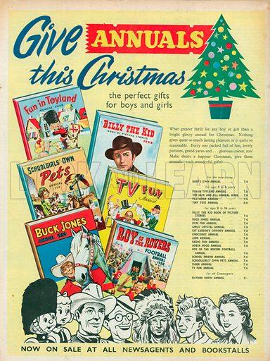 Books Advertisement, 1957.