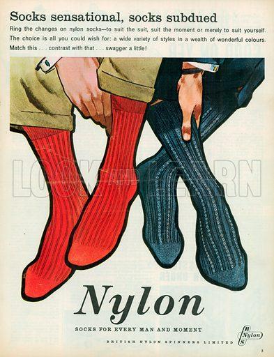 Nylon Advertisement, 1959.