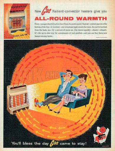 Gas Advertisement, 1958.