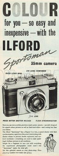 Ilford Colour Advertisement, 1958.